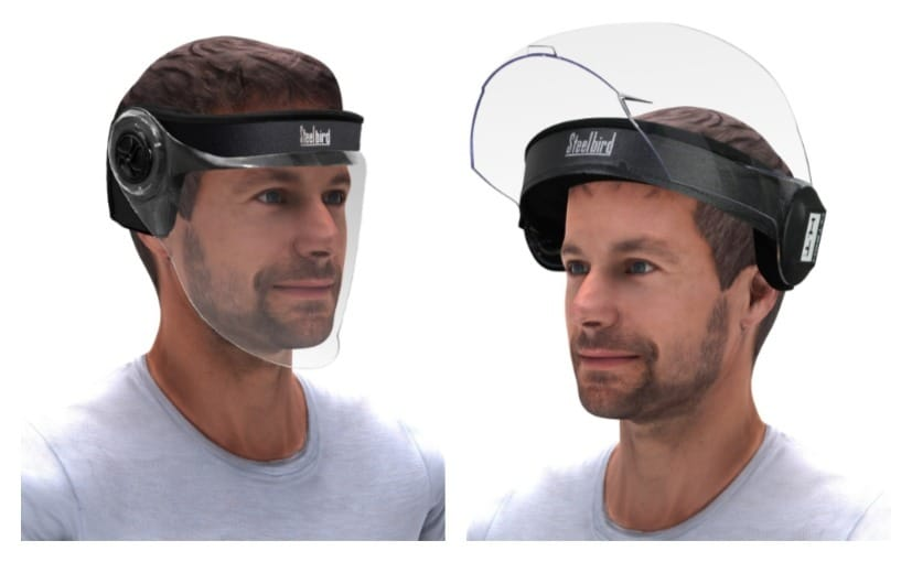 Steelbird Helmets introduced a range of face shields to combat the COVID-19 pandemic in India