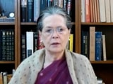 "Video : ""Despite A Year To Prepare..."": Sonia Gandhi Slams Centre Over Covid"