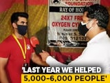 Video : Mumbai Man's Free Oxygen Supply Scheme A Life-Saver For Residents