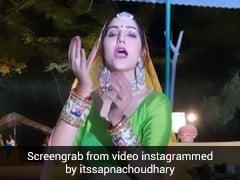 Sapna Choudhary ने 'ठाड़े रहियो' सॉन्ग पर किया लाजवाब डांस, देसी क्वीन का Video हुआ वायरल