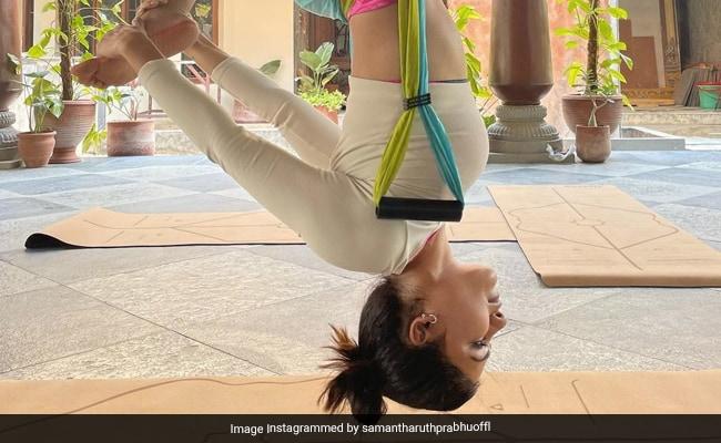 Just A Pic Of Samantha Ruth Prabhu Acing The Art Of 'Balancing'