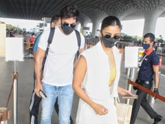 Alia Bhatt, Ranbir Kapoor Travel In Perfect Matching Summer Whites