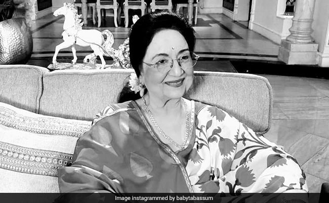 'Am Fine And Healthy': Veteran Actress Tabassum, 77, Rubbishes Death Rumour