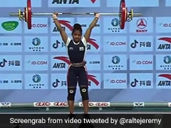 India's Jhilli Dalabehera Wins 45kg Gold At Asian Weightlifting Championships