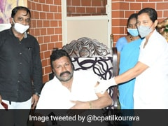 Health Official Suspended For Giving COVID-19 Shot To Karnataka Minister At Home