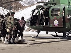 First Visuals Of Army Rescue Op After Glacier Disaster In Uttarakhand