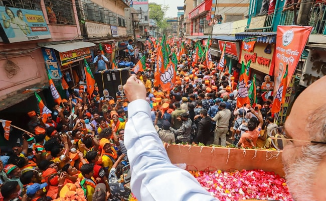Days After PM Modi, Amit Shah Holds Massive Roadshow In Bengal's Singur, Assures Industrialisation
