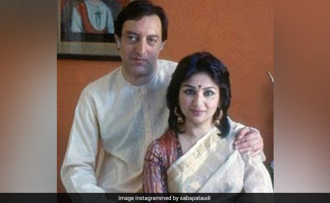 Just A Million Dollar Throwback Pic Of Mansoor Ali Khan Pataudi With Sharmila Tagore