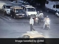 Mumbai Cop Sachin Waze Shown CCTV To Recreate Scene In Murder Probe