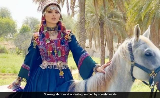 उर्वशी रौतेला ने अपनाया इराकी लुक, घोड़े पर सवार होकर यूं कराया फोटोशूट- Video 2 लाख के पार