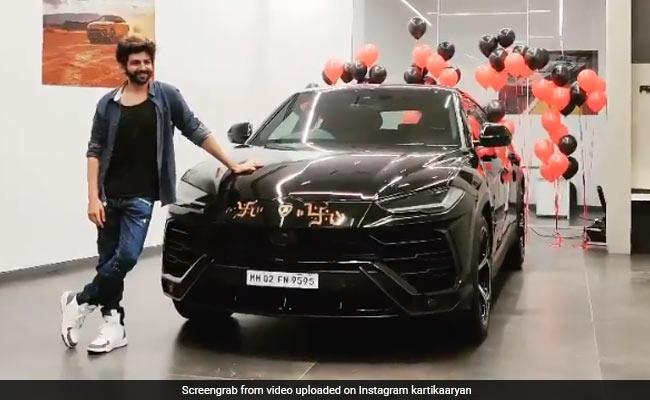 Kartik Aaryan Buys A Lamborghini Urus After Testing COVID-Negative. His ROFL Post