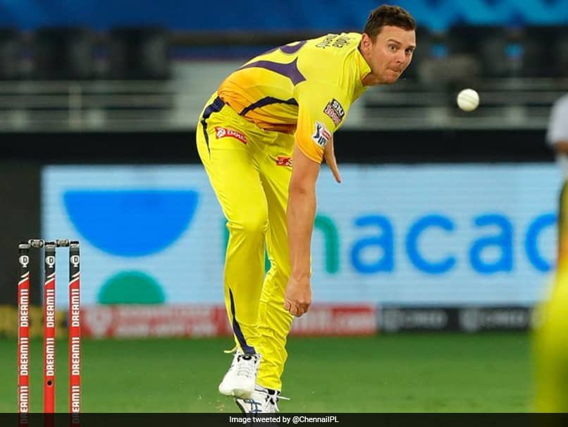 """IPL 2021: CSK Hint At """"Aussome Action"""" As Replacement For Josh Hazlewood"""