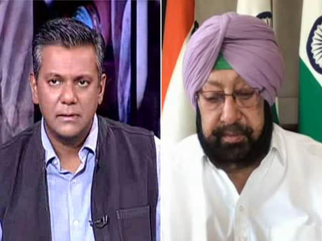 """Video : """"Want To Protect People, Not Harass Them"""": Amarinder Singh On Covid Curbs"""