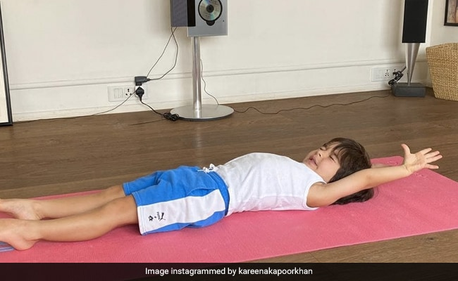 Kareena Kapoor Is Having A Tough Time Decoding Taimur's 'Lockdown Yoga' Pose
