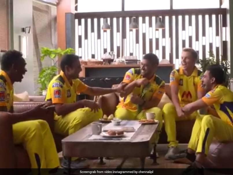 IPL 2021: MS Dhoni, Dwayne Bravo Share A Laugh In CSKs BTS Video. Watch