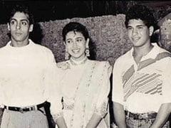 In Karisma Kapoor's Birthday Wish For Sachin Tendulkar, Special Appearance By Salman Khan