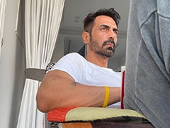 "COVID-Positive Arjun Rampal Shares A Post From His ""Quarantine Life"""