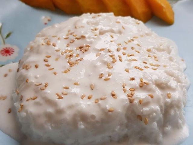 Video : How To Make Mango Sticky Rice | Easy Mango Sticky Rice Recipe Video