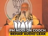 "Video : ""Mamata Banerjee Playing Politics On Dead Bodies"": PM Modi On Cooch Behar Audio Leak"