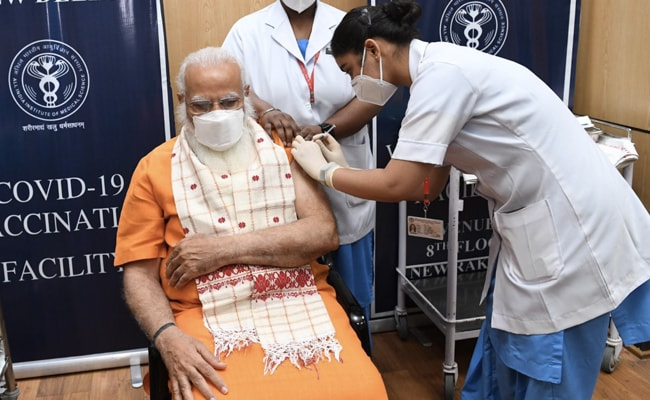 "PM Modi Calls For Mass Vaccination, 4-Day ""Tika Utsav"" Starts Today"
