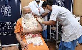PM मोदी ने 'टीका उत्सव' की शुरुआत की, जनता से दूसरों की मदद की अपील की