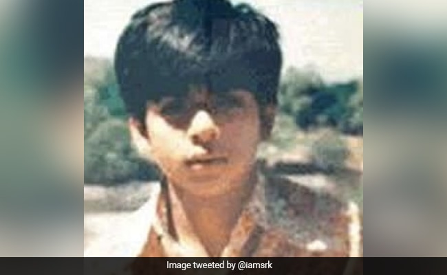 When Is This Pic From, Fan Asks Shah Rukh Khan. 'Dinosaur Age,' He Tweets Back