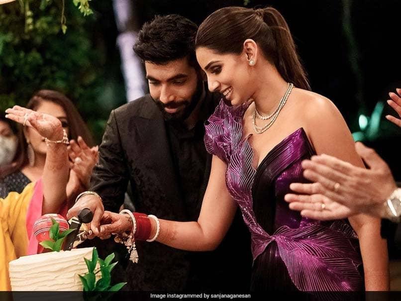 "Sanjana Ganesan Misses Husband Jasprit Bumrah ""Little Extra"" On One-Month Wedding Anniversary"