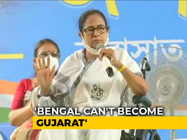 'We Will Not Allow Bengal To Become Gujarat': Mamata Banerjee