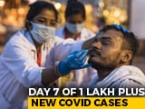 Video : 1.61 Lakh Fresh Covid-19 Cases In India, 1.36 Crore Total Cases