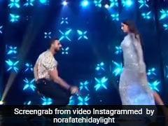 नोरा फतेही और तुषार कालिया में छिड़ी जंग, 'नाच मेरी रानी' पर डांस कर दी एक-दूसरे को टक्कर- देखें Video