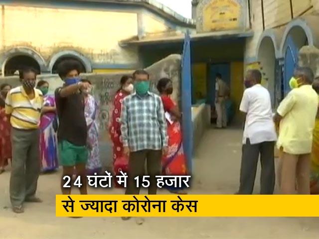 Video : कोरोना के साये में पश्चिम बंगाल में सातवें चरण के लिए मतदान जारी