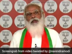 """""""Bengal Yearns For Peace And Development"""": PM Modi In Virtual Address"""