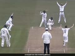 Watch: Michael Vaughan Reacts To Shocking Stumping Incident In County Championship