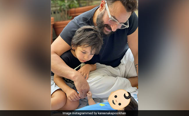 A Glimpse Of Kareena Kapoor's Weekend Featuring Saif Ali Khan, Taimur And Baby Son