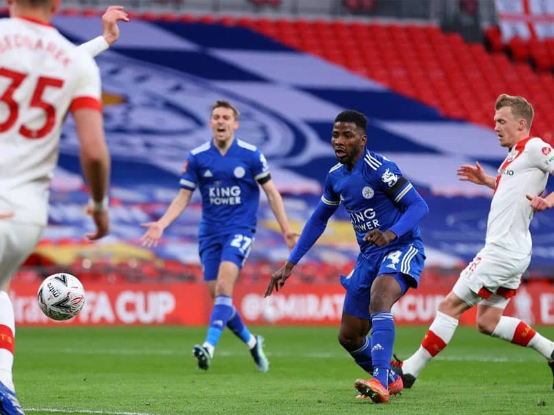 FA Cup: Kelechi Iheanacho Fires Leicester City Into Final On Fans Return