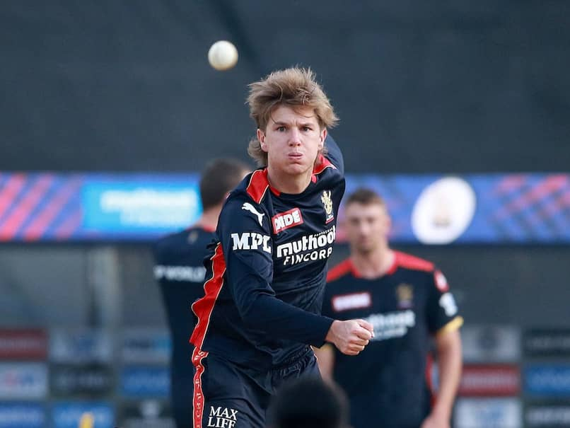 IPL 2021: Adam Zampa trains for RCB during the ongoing season.© BCCI/IPL