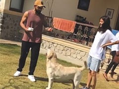 "When Anushka Sharma And Virat Kohli Spent ""Priceless"" Paw-Some Moments Together"