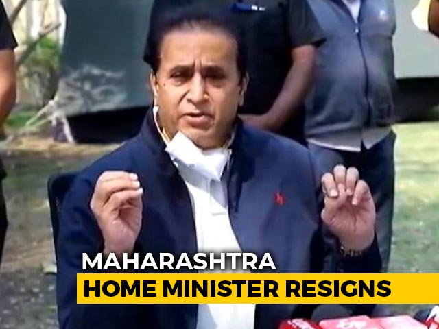 Video : Maharashtra Home Minister, Facing CBI Probe, Quits