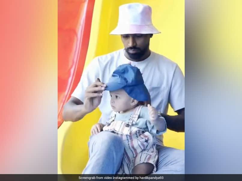 Hardik Pandya Posts Video With Son Agastya On Instagram, Anushka Sharma Showers Them With Love. Watch