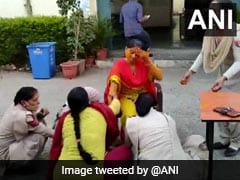 Watch: Rajasthan Cop's <i>Haldi</i> At Police Station Beacuse She's Couldn't Get Leave