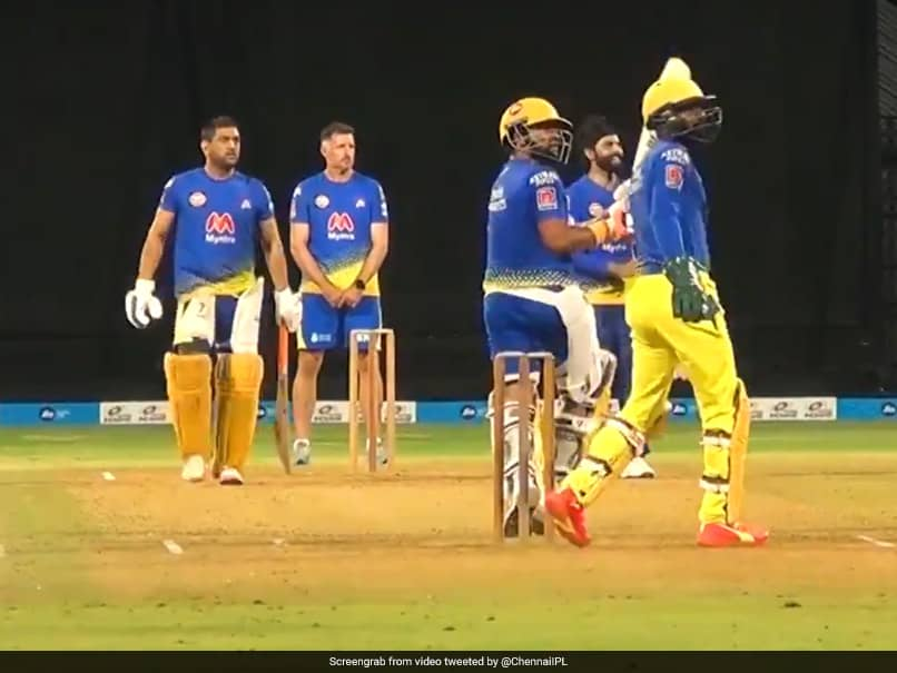 IPL 2021: Chennai Super Kings Super Match Highlights As MS Dhonis Side Gear Up For IPL. Watch