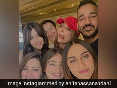 Here's How New Mom Anita Hassanandani Celebrated Her 40th Birthday