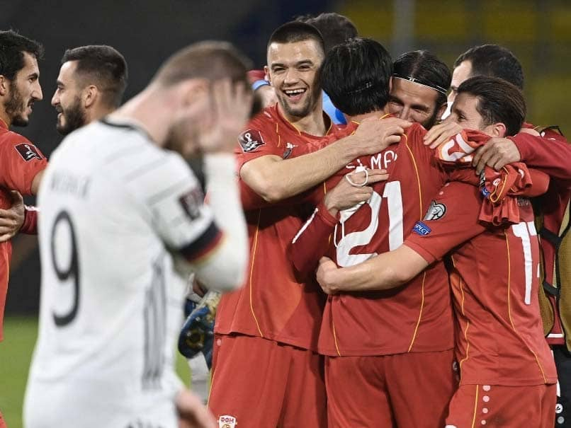 World Cup Qualifiers: North Macedonia Hand Germany First World Cup Qualifying Loss In 20 Years