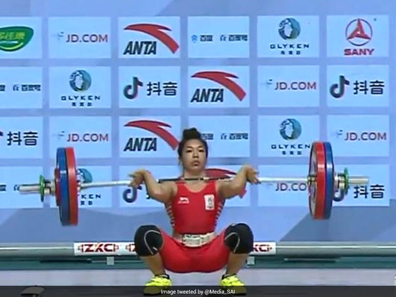Asian Weightlifting Championships: Mirabai Chanu Creates Clean And Jerk World Record To Clinch Bronze