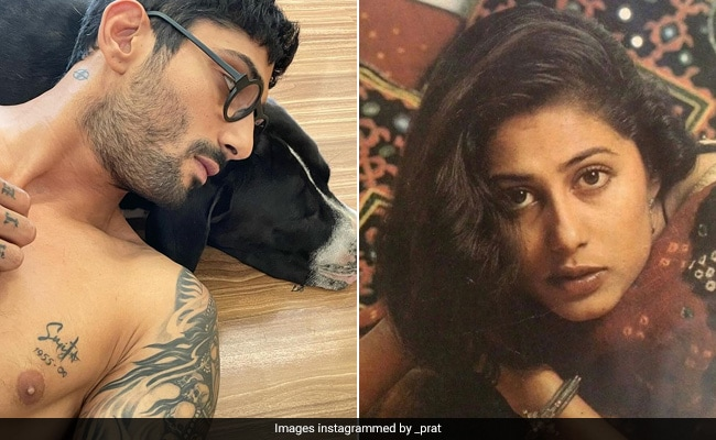 """Prateik Babbar Gets Mother Smita Patil's Name Tattooed """"On His Heart."""" See Trending Pic"""