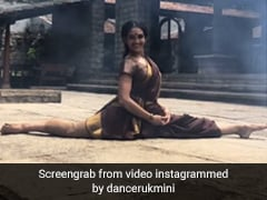 "Watch: Splits To Headstands, Dancer Does It All In A ""Well-Draped <i>Saree</i>"""