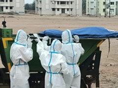 छत्तीसगढ़ : कोरोना संक्रमण से मृत लोगों के शव कचरा फेंकने वाले वाहन से ले जाए गए