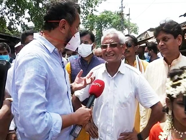 "Video : ""People in Kolkata Have Been Subjected To Sense Of Terror"": BJP's Subrat Saha"