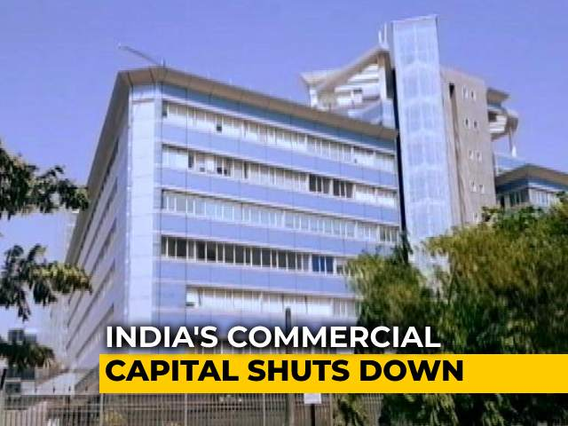 Video : India's Commercial Hub In Mumbai Shuts Down