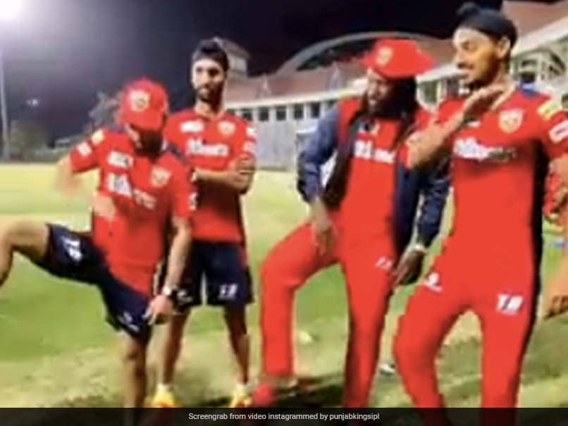 IPL 2021: Chris Gayle And His Teammates Gear Up For Upcoming Season With Thigh-Five Celebration. Watch